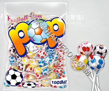 FOOTBALL GUM POP