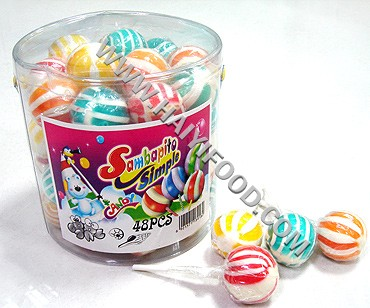 BEACHBALL LOLLIPOP