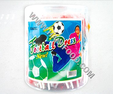 FOOTBALL DRESS LOLLIPOP