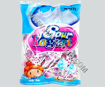 SOUR YOGURT LOLLIPOP