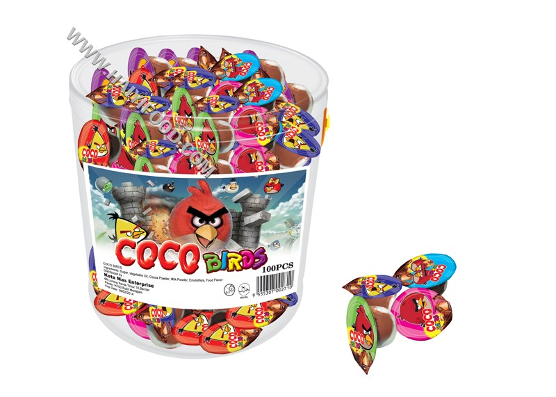 COCO BIRDS CHOCOLATE CUP (JAR)